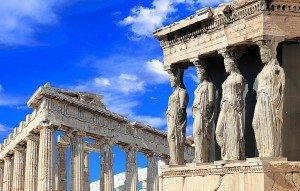 Parthenon and Caryatides