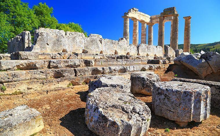 Corinth, Temple of Apollo