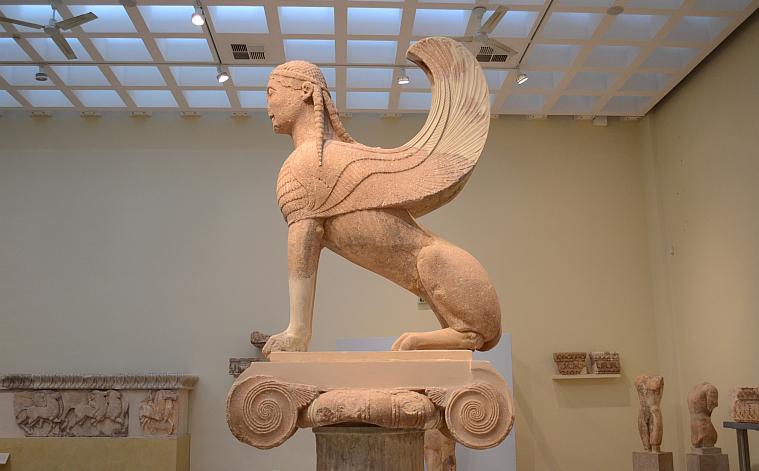 The Sfinx, Delphi