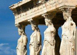 The Karyatids at Acropolis